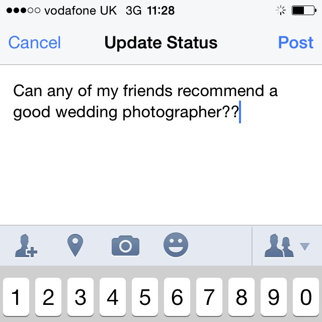 Asking your friends on Facebook will net you a good response.