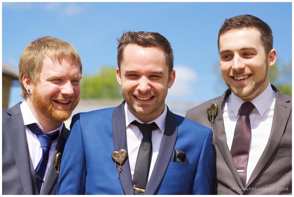 Paul and his groomsmen