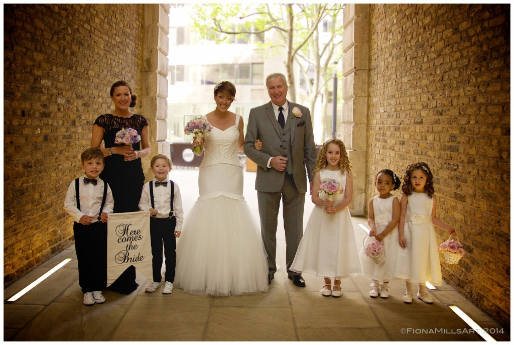 Devonshire Terrace, London, Wedding photography
