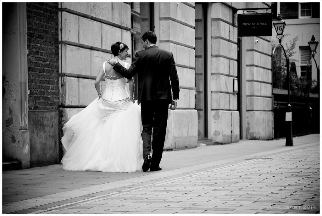 wedding photography London Devonshire Terrace,