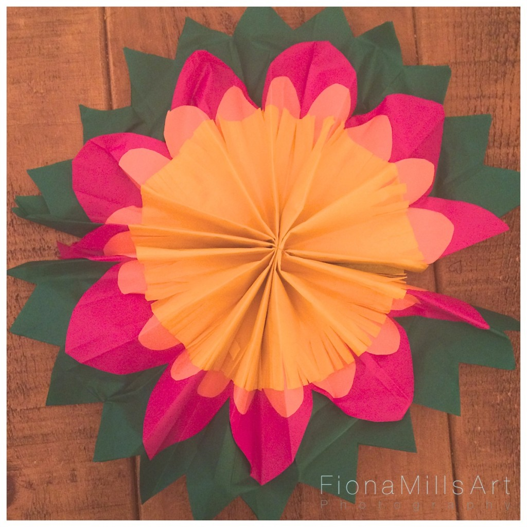 Making paper flowers for weddings 10