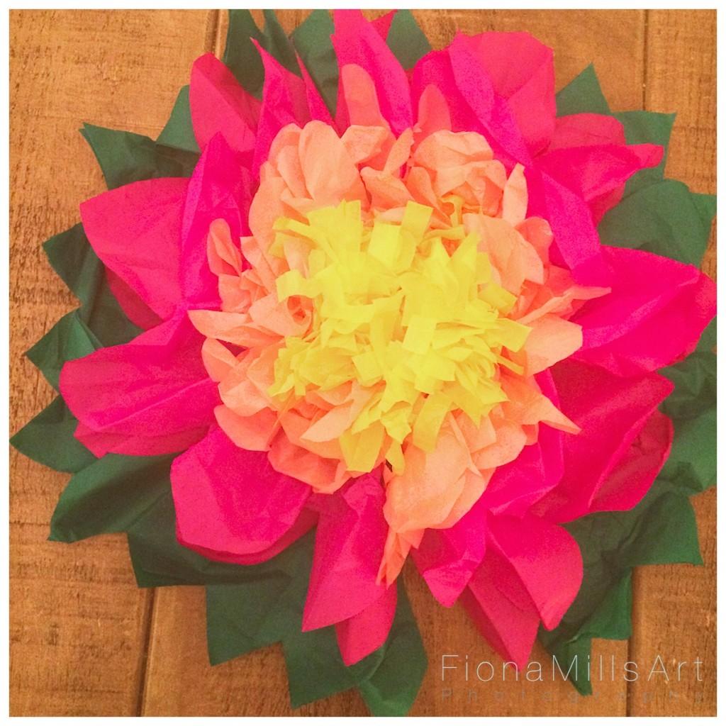 Making paper flowers for weddings 12