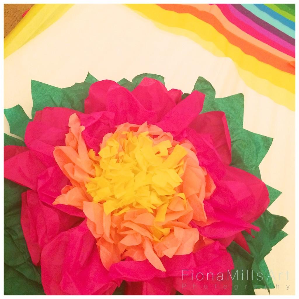 Making paper flowers for weddings 13