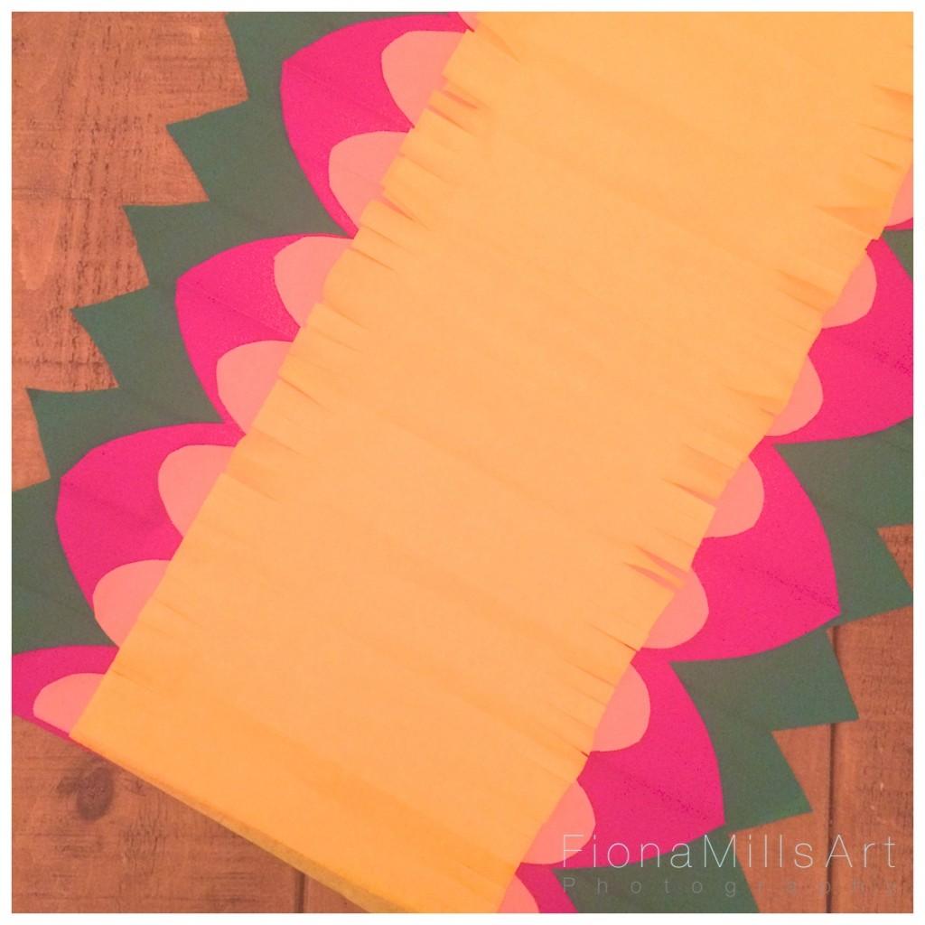 Making paper flowers for weddings 7