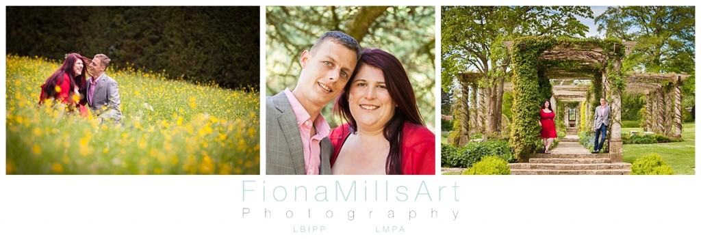 West Dean Gardens Engagement Photographer